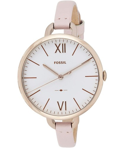 Fossil Annette Silver Dial...